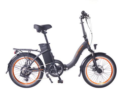 אופניים חשמליים עירוניים סוללת ליתיום 48 וולט מובנית בתוך שילדת אלומיניום 6061 חזקה ומקצועית.