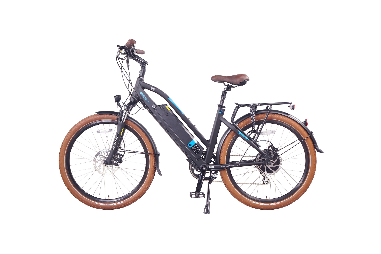"""אופניים חשמליות מגנום מטרו, אופניים עירוניים לרכיבה בבטיחות מלאה. סוללה 48 וולט, מהירות 25 קמ""""ש, בולמי זעזועים סנטור ובעלי תקן"""