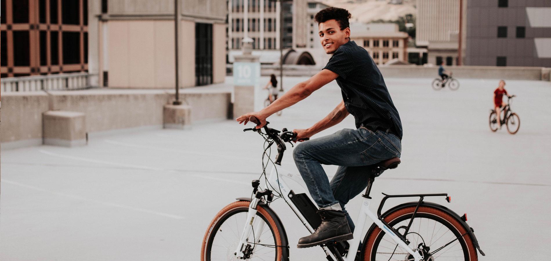 אופני מגנום מטרו. אופניים עירוניים 48 וולט, 2 בלמי דיסק, מהירות גבוהה ובעל תקן בטיחות אירופאי